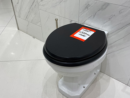 Lefroy Brooks back to wall WC & Seat - Just £339 + VAT