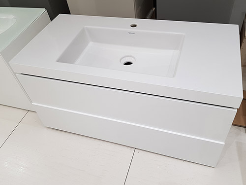 Save Over £500 on this Duravit LCUBE C-Top Vanity Unit - was £1,300.00 NOW £764.00 + VAT