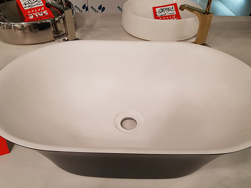 Over 50% off this Cudon Matt White & Black Basin - was £504.00 NOW £243.57 + VAT
