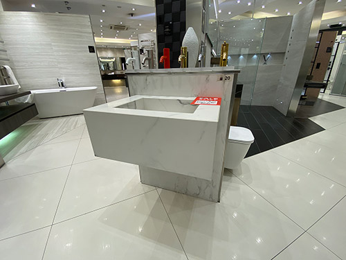 White Laminum Stone Basin - was £1,675.00 NOW £450.00 + VAT