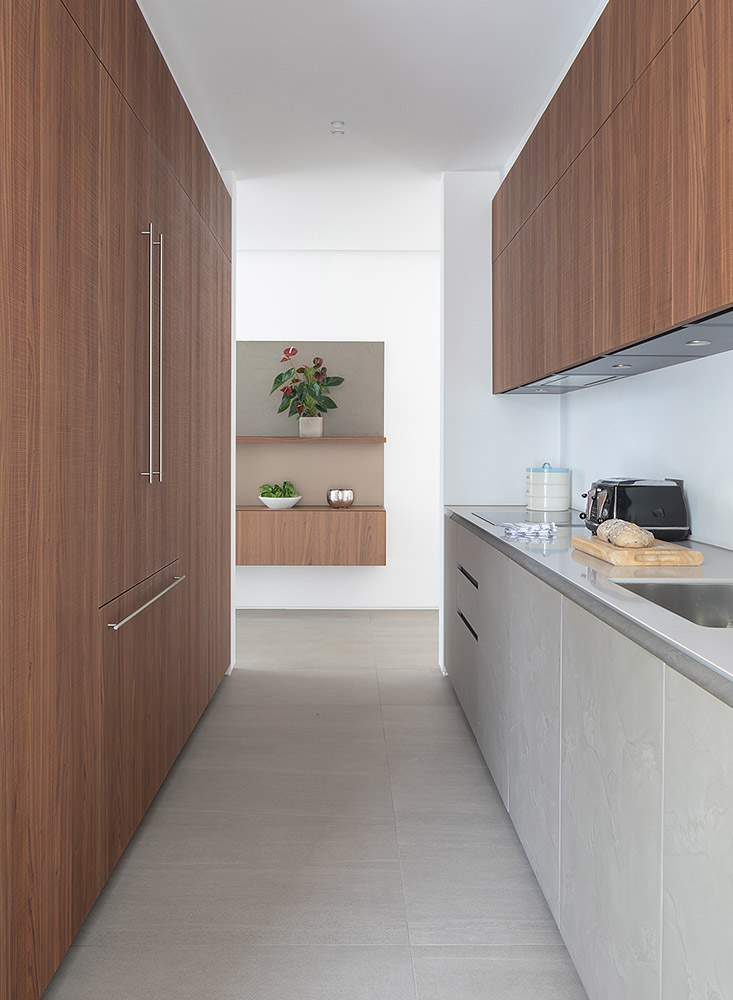 Cesar Cement Effect Kitchen - back kitchen