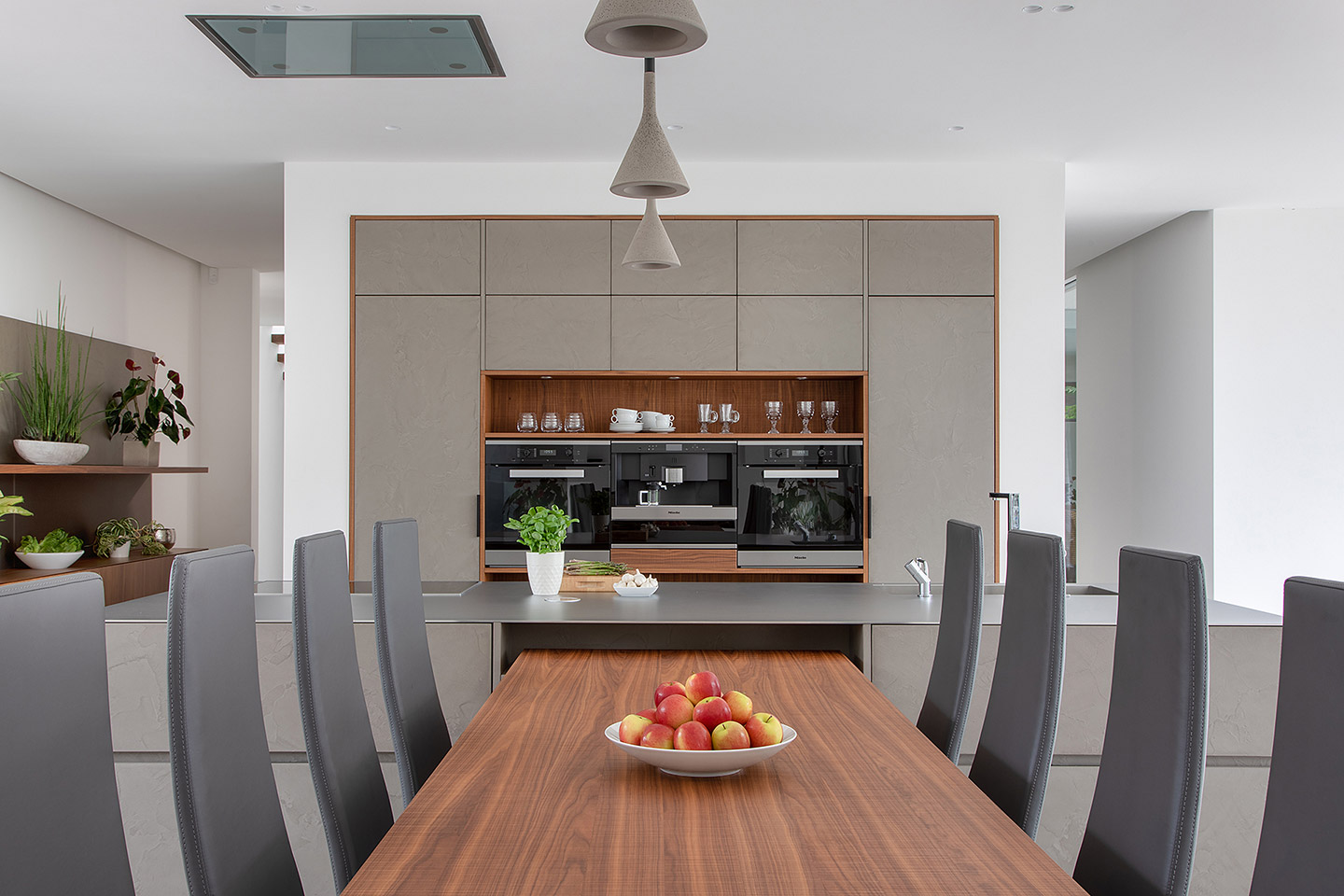 Cesar Cement Effect Kitchen - kitchen-dinner