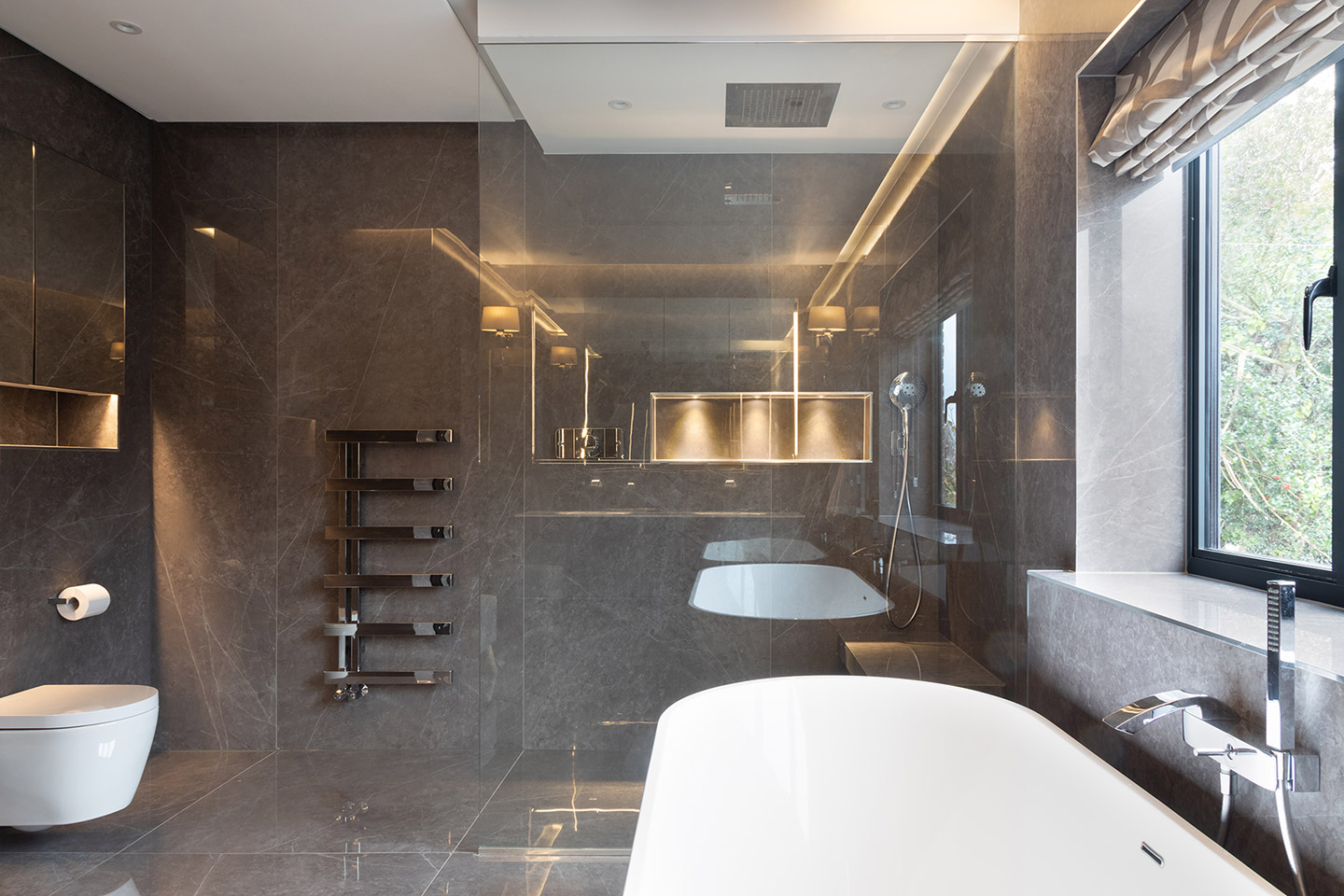 Master Bathroom & Tiles