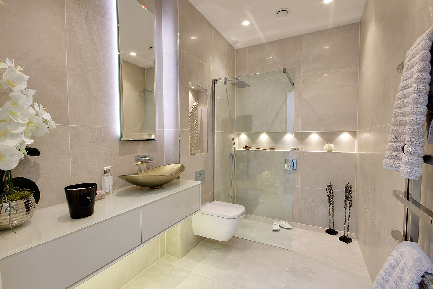 Luxury Bathroom - Shower Room : Hadley Wood, London