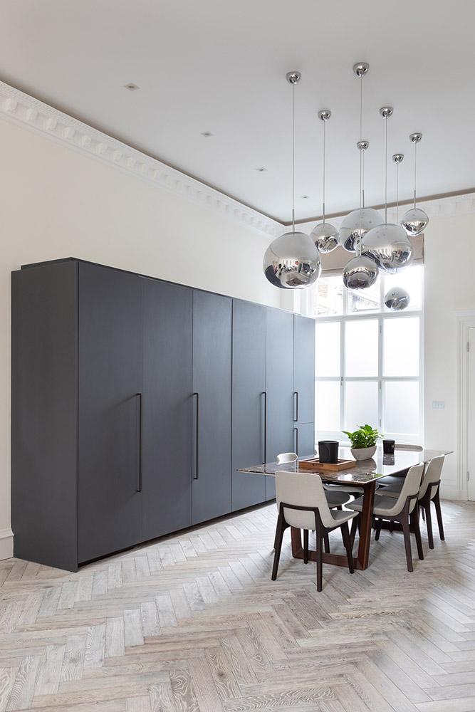 Concealed Plumbeo Cesar Kitchen