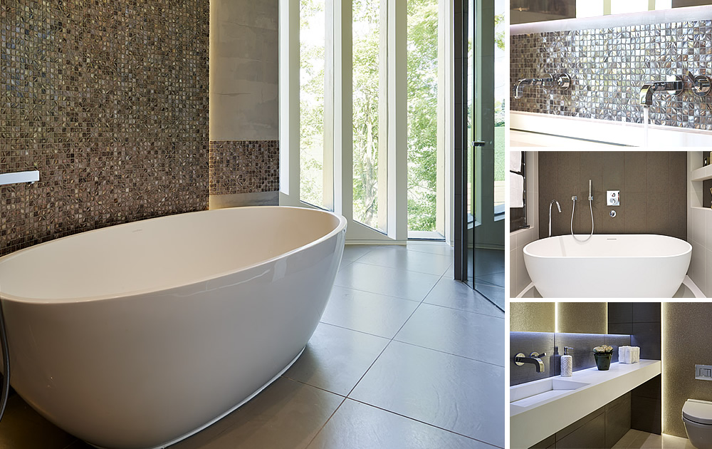 Unique Bathrooms Project - A unique highly sustainable house by the team at leading Hampstead designers