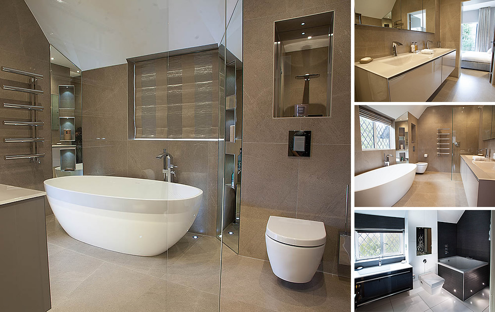 Bathrooms & Bedrooms - New North London Project