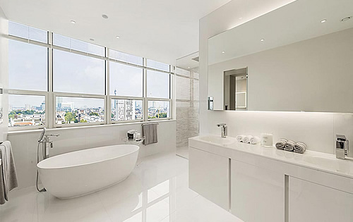 The Telegraph - Our bathroom features in the telegraphs world's best bathrooms
