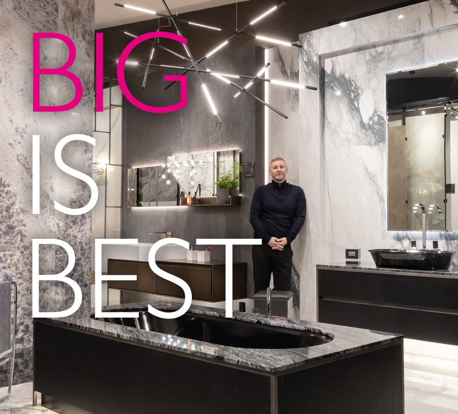 Essential Bathrooms - Big is Best
